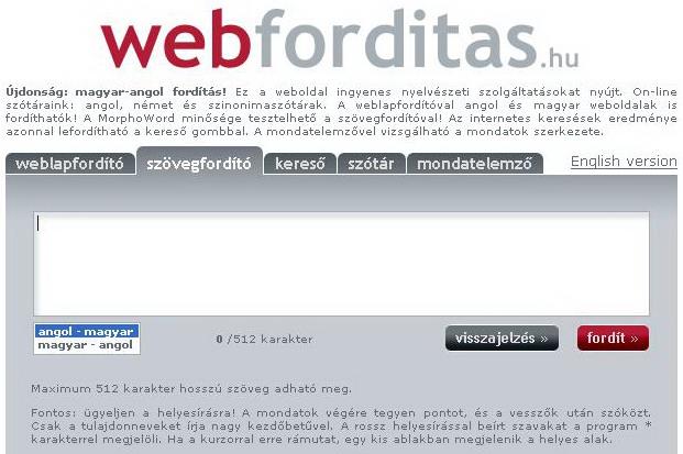 Webforditas online dating
